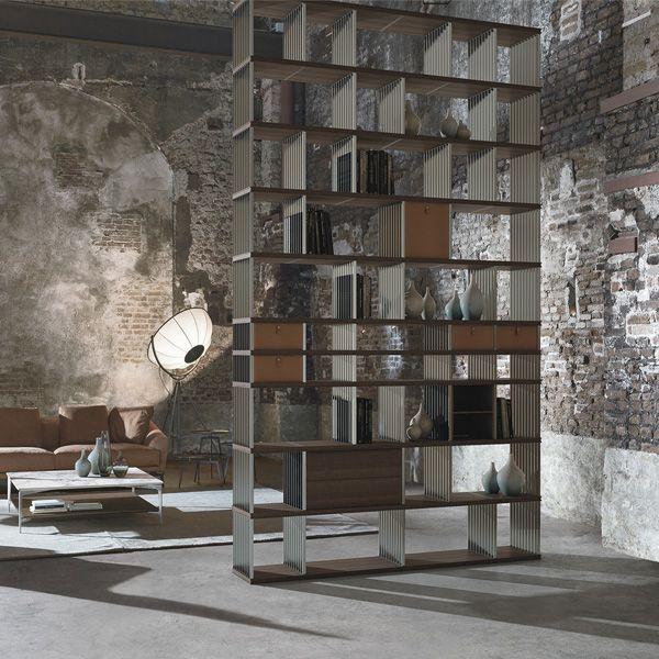 Libreria diesys design giuseppe bavuso alivar arredamento di design alivar bar interior - Scaffali porta cd ...