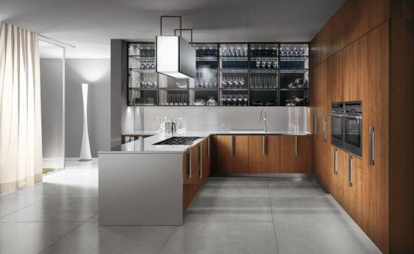 barrique-design-küche-ernestomeda-holz-wein-liebhaber - vitrina, Kuchen
