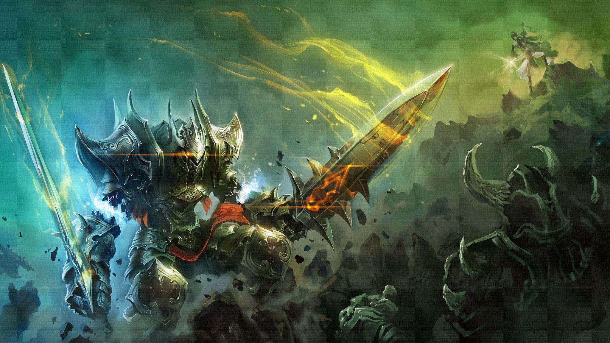 Epic Battle Fantasy Wallpaper Battle Warriors Knight Epic Weapon Armor Sword Fantasy Wallpaper404 Com Hd Zojuar Jpg Scifi Fantasy Art Epic Backgrounds Fantasy