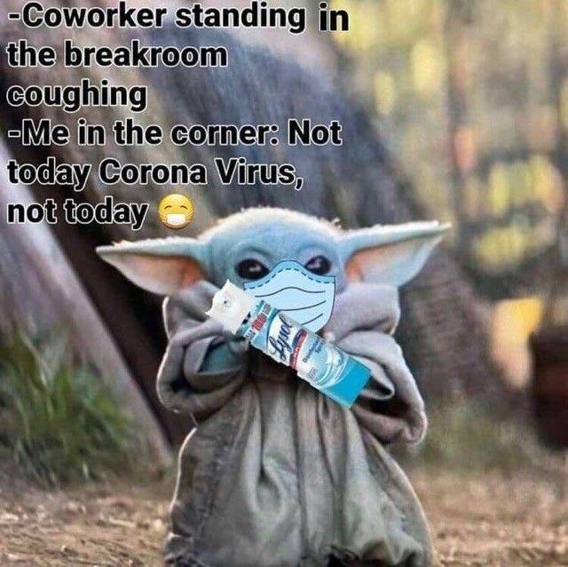 Pin By Jordan Ballard On Rona 2020 Yoda Funny Yoda Meme Yoda