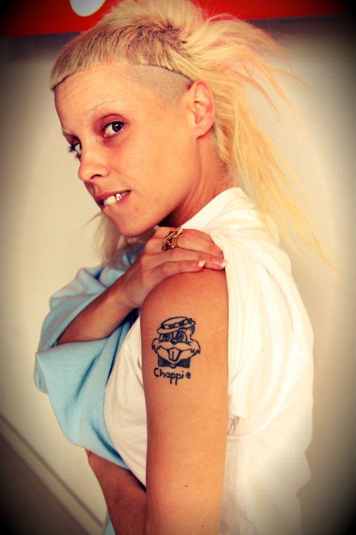 Yolandi visser tattoos