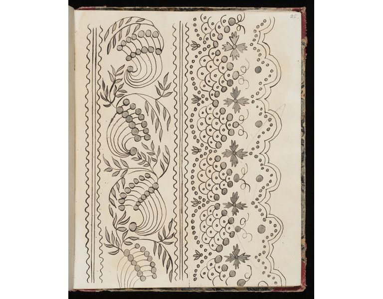 Bordures /& Angles BRODERIE ANCIENNE 265 modèles,