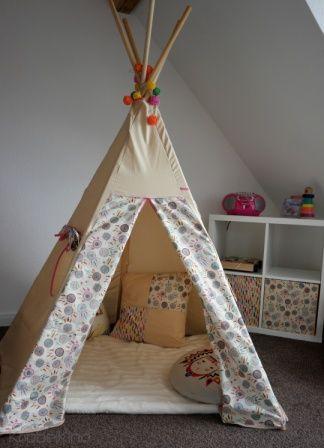ein tipi f r mara ich war auf der suche nach einem zelt. Black Bedroom Furniture Sets. Home Design Ideas