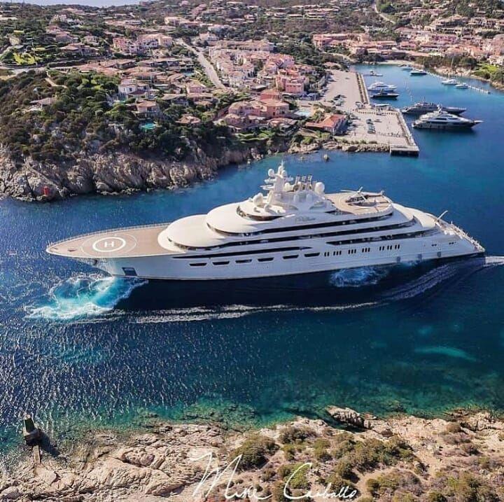 Hızır PEKAĞAÇ 52792562334 | Luxury yachts, Yacht, Super yachts