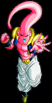 Super Buu Gotenks 2 By Alexelz Dragon Ball Dragon Ball Z Dragon Ball Super