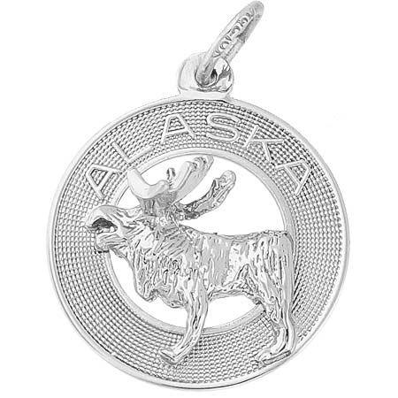 Alaska Moose Charm 31 50 Https Www Charmnjewelry Sterling