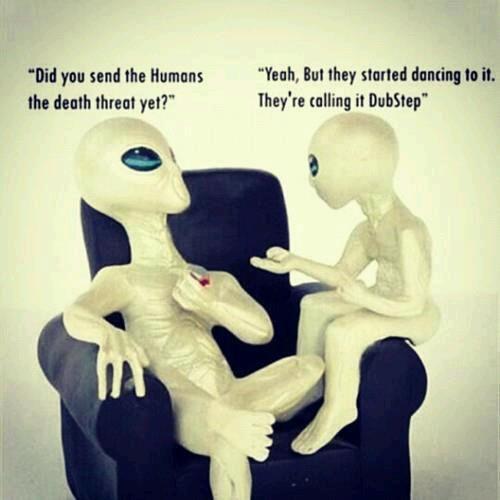 Skrillex is an alien, haha