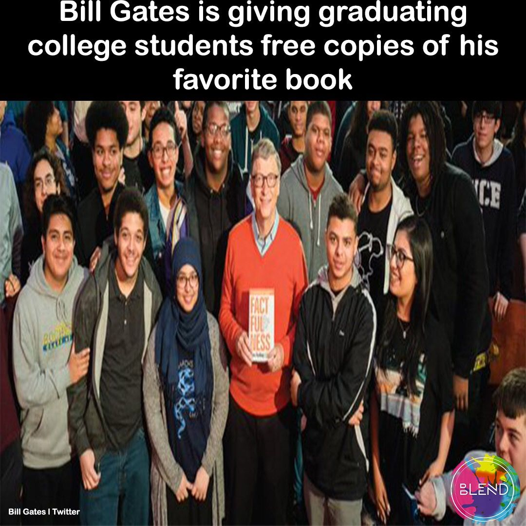 The Microsoft Founder Announced That He Will Be Giving Away His Favorite Book To Any American College Student Favorite Books American Colleges College Students