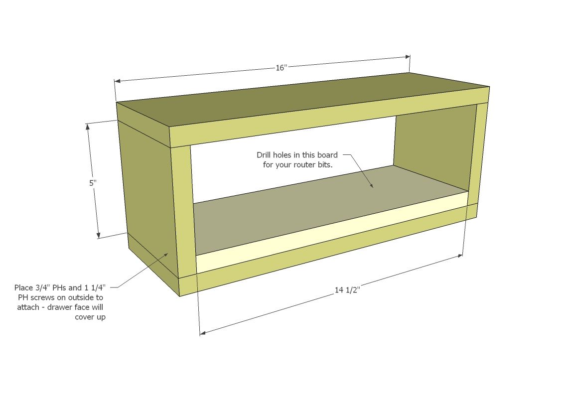 Ana white build a patricks router table free and easy diy ana white build a patricks router table free and easy diy project and furniture greentooth Images