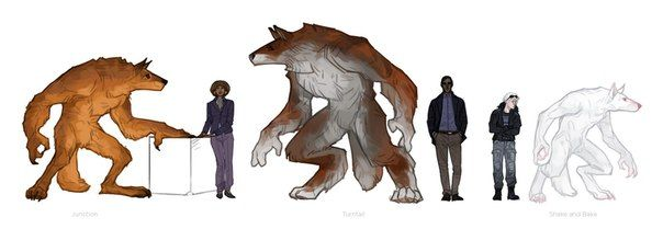 Werewolf deed names