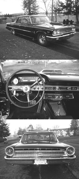 1963 Ford Galaxie Xl Cars Pinterest Ford Motos And Autos