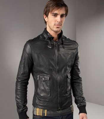 Leather Shop Mens Black Classic Strap Pockets Motorcycle Leather Jacket Men Plus Size Brown Leather Jacket