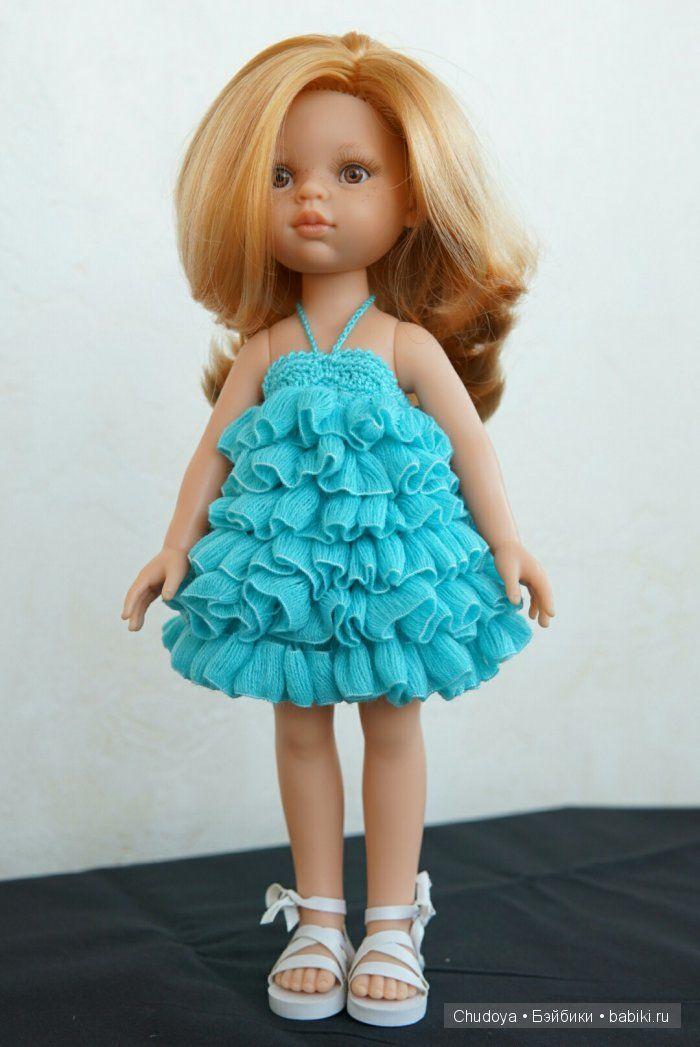 """Вязалки для Паолок, часть 2. Эксперименты с ленточной пряжей """"рюш-фэшн"""" / Одежда и обувь для кукол - своими руками и не только / Бэйбики. Куклы фото. Одежда для кукол"""