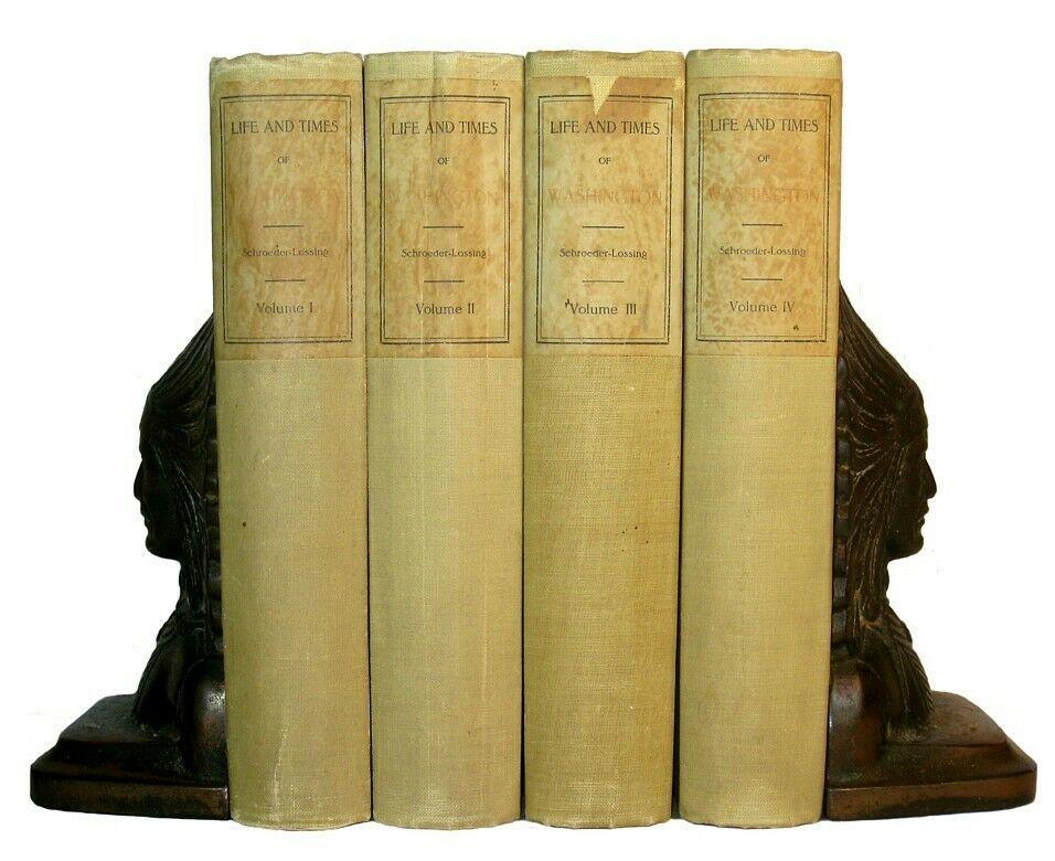 George Washington Revolutionary War Us American Revolution President Antique Set In 2020 George Washington Revolutionary War Antique Books Revolutionary War