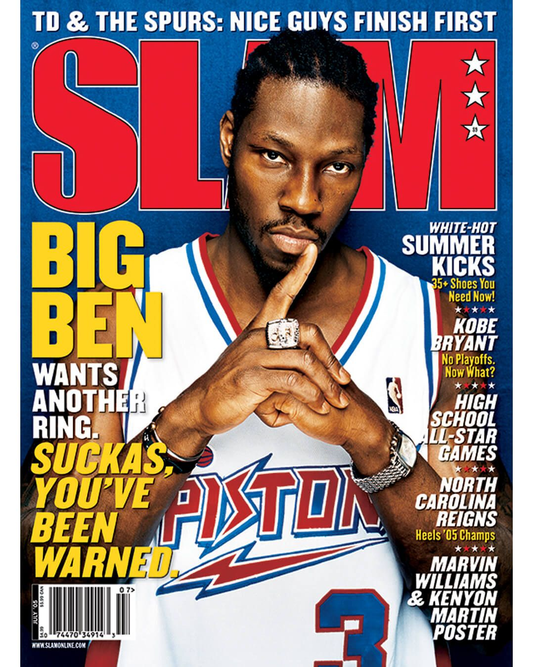 YOUVE BEEN WARNED The Ben Wallace Cover Story from SLAM