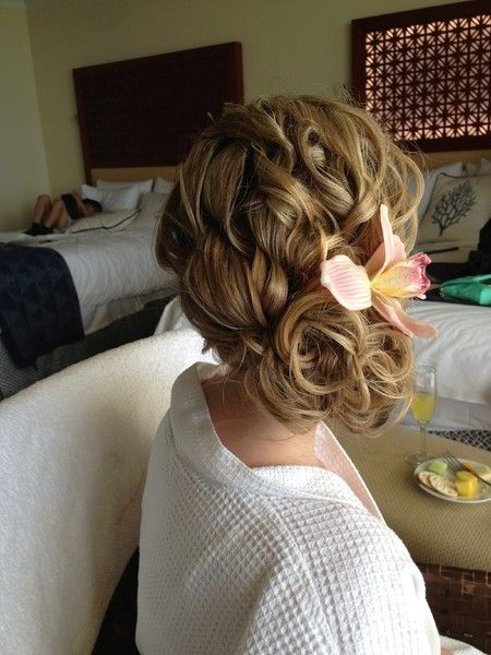 Beauty by May - Hawaii Hair and Makeup Artists - Updo wedding ...