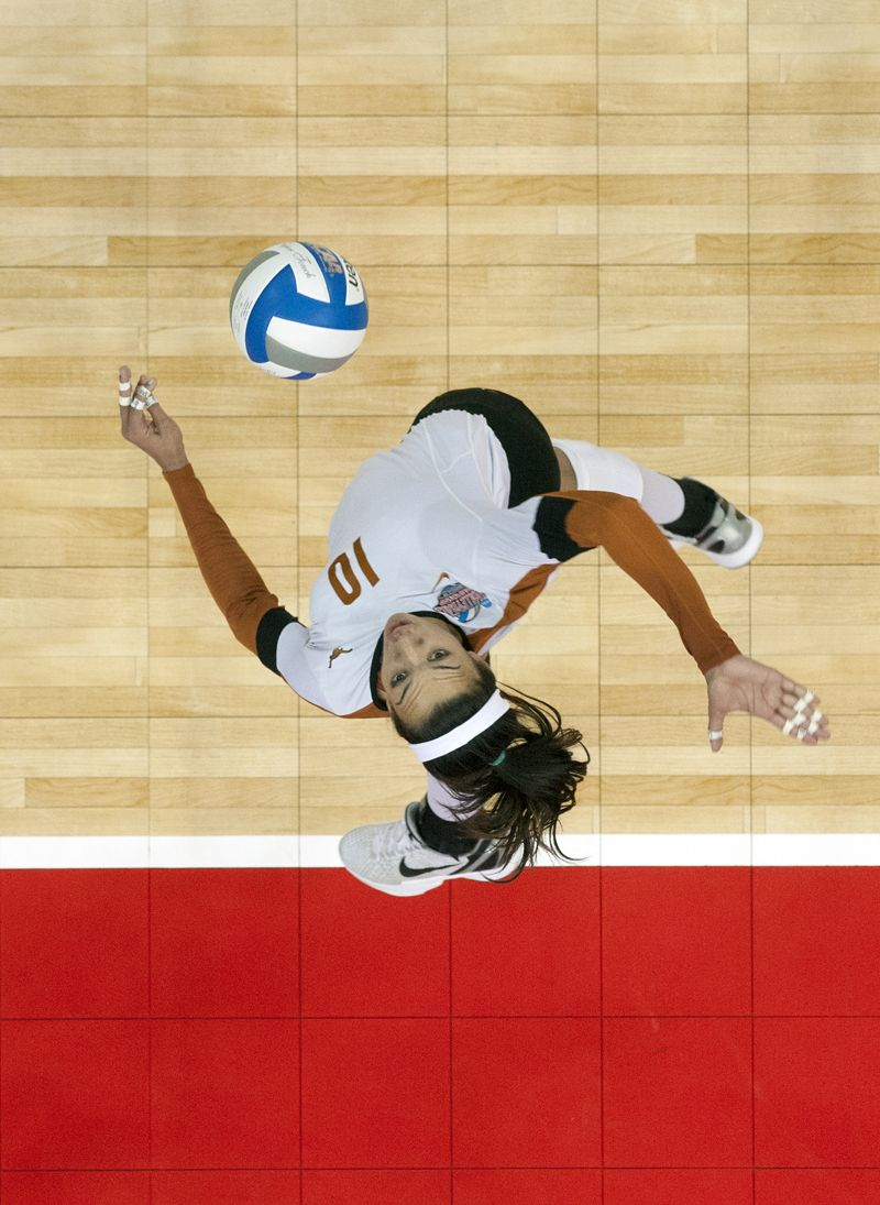 The Official Website Of The University Of Texas Athletics Women Volleyball Sports Action Photography Athlete