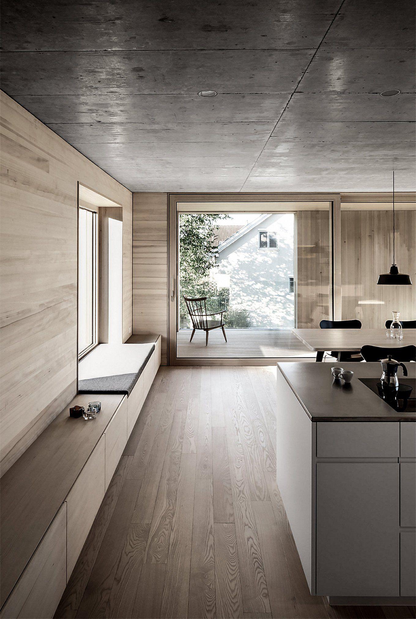 Bäumle House | Hotelzimmer, Fenster und Küche