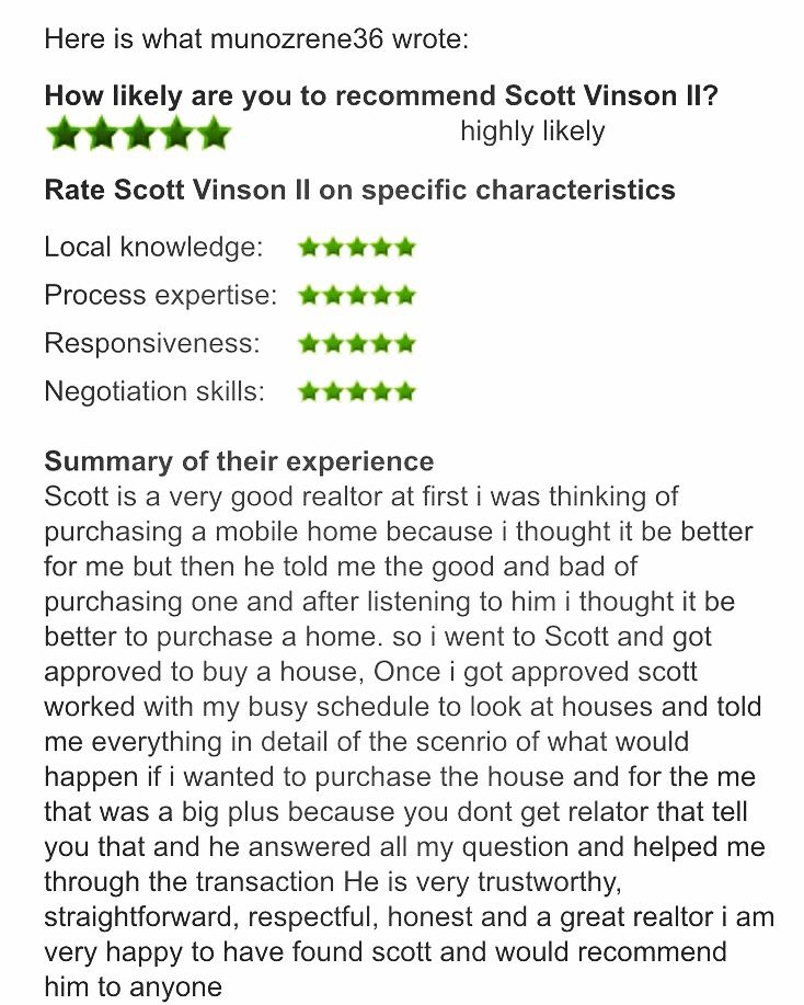 Just got Another Great Review from a Happy Client of mine! Thank you - home maintenance spreadsheet
