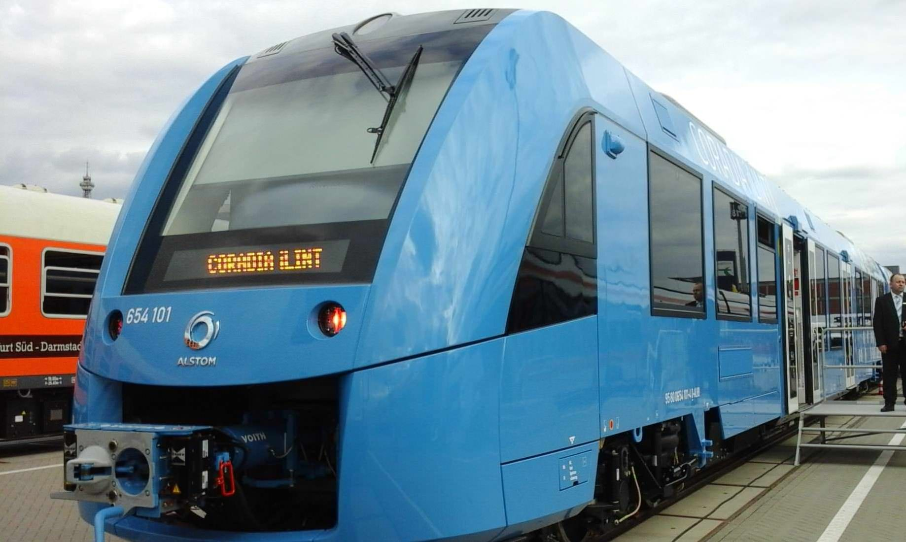 Alstom confirms order for its hydrogenpowered coradia ilint