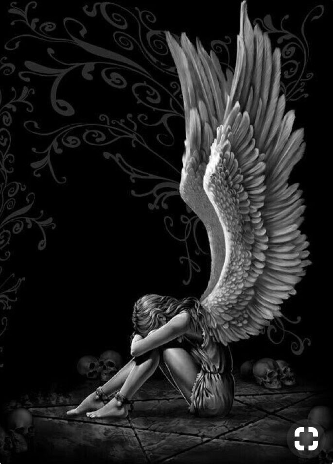 f4c333a778572 Angels can be Demons in the dark. | Angels | Angel art, Angel wings ...