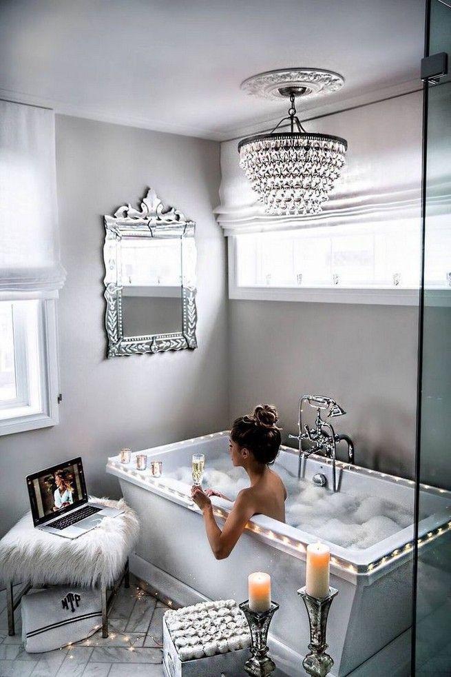 dream bathrooms luxury romantic 14  diy bathroom makeover