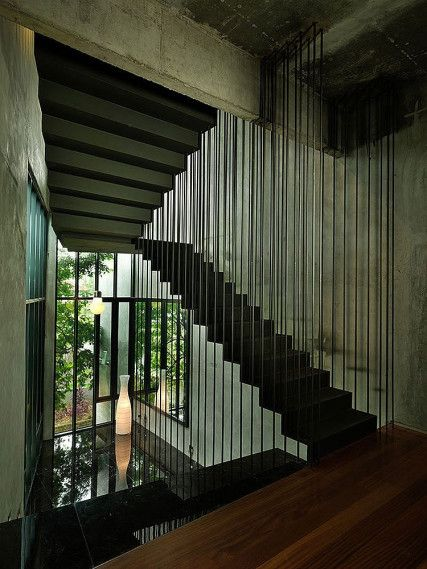 Best S11 House Malaysia Modern Bungalow Staircase Design 400 x 300