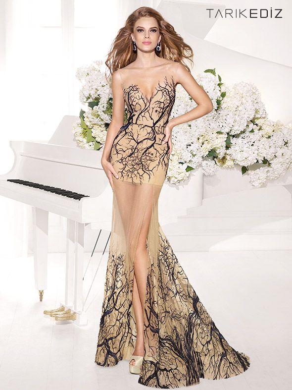 Maravillosos vestidos de moda | Colección Tarik Ediz | Moda para ...
