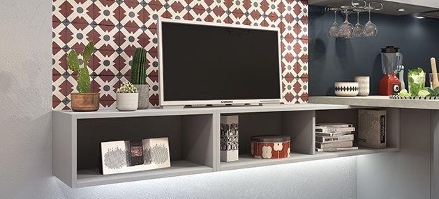 Astuce  utilisez les meubles de cuisine en meuble TV pour intégrer