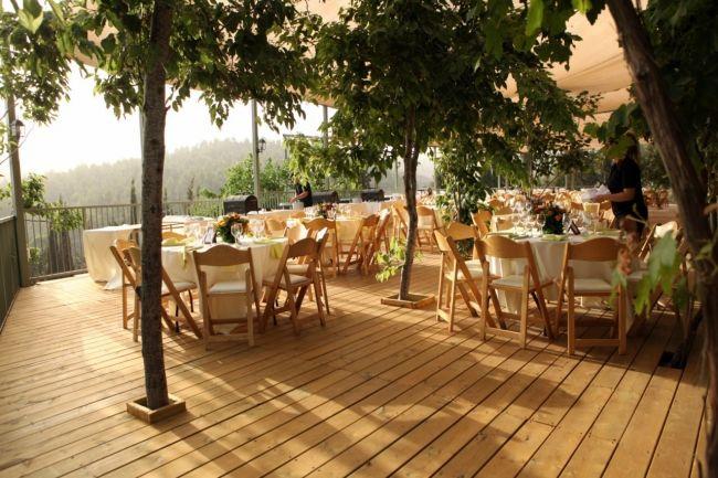 Fresh Wedding Reception Halls Near Me: Tur Sinai Organic Farm Resort Near Jerusalem