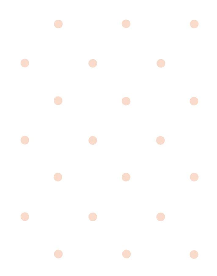 Polka Dot Wallpaper By Sugar Paper Pink On White Polka Dots Wallpaper Baby Pink Wallpaper Iphone Dots Wallpaper