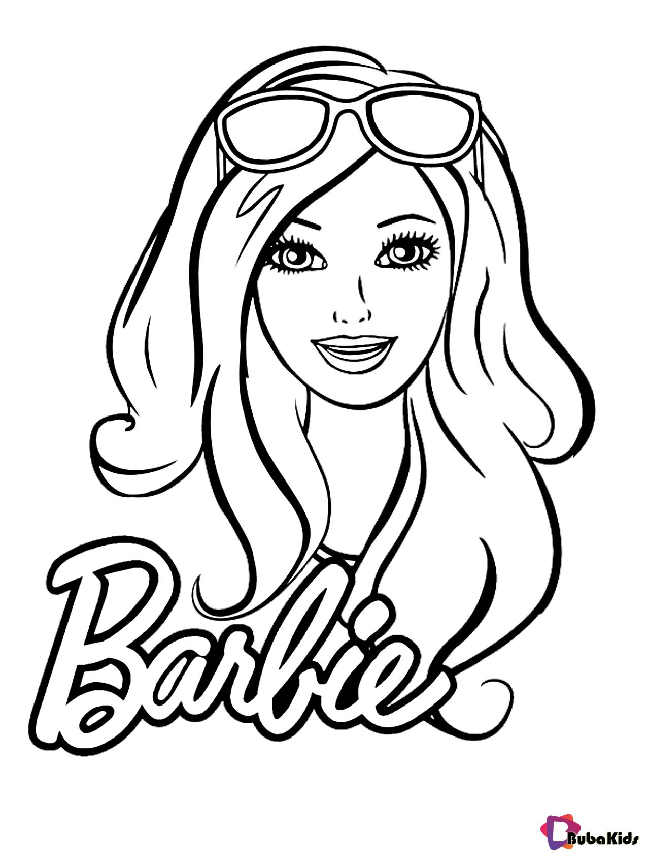 Pin By Tania Lisbeth On Mascaras Barbie Coloring Barbie Coloring Pages Coloring Pages For Girls