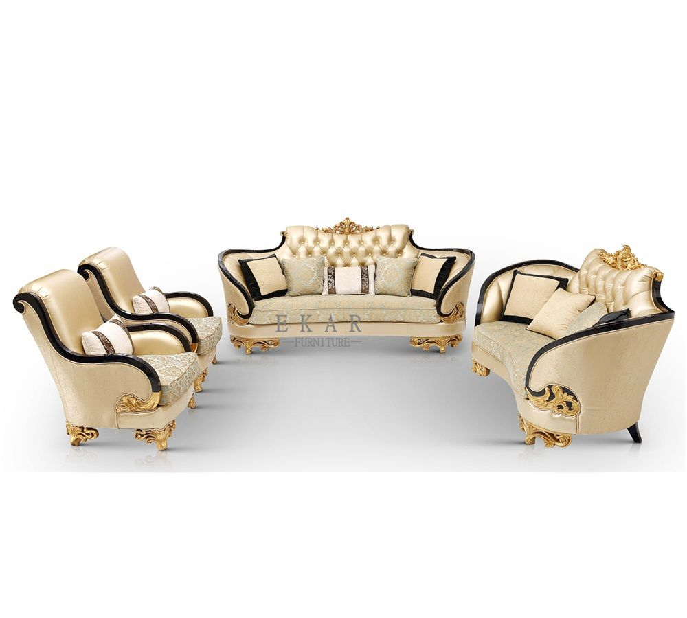 Latest Home Furniture Solid Wooden Luxury Hand Carved Royal Designs Chesterfield Sofa Set Sofa Sets Sofa Furniture Furniture Sofa Set Latest Sofa Designs