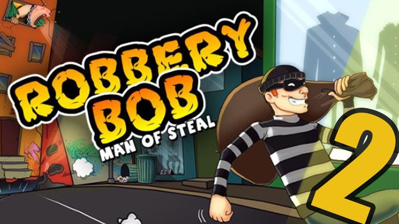 Robbery Bob LOGICAL MIND Android iOS Gameplay PART 2 in