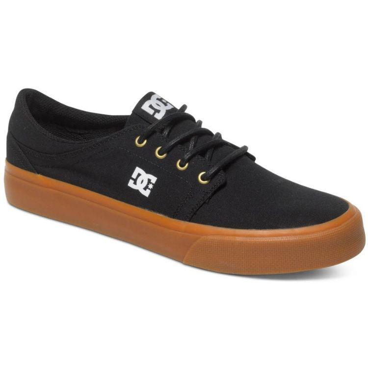 DC Trase TX Shoes - Black/Gold
