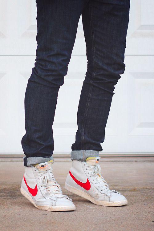 How To Wear Nike Blazers : blazers, Imgur.com, Blazers, Outfit,, Blazer, Outfits
