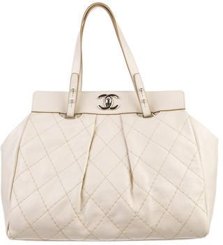c010bb65fe33 Chanel On the Road Large Tote on shopstyle.com | fashion | Pinterest ...