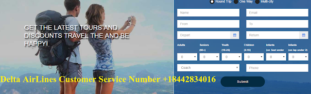 +18442834016 Delta Airlines Customer Care Number