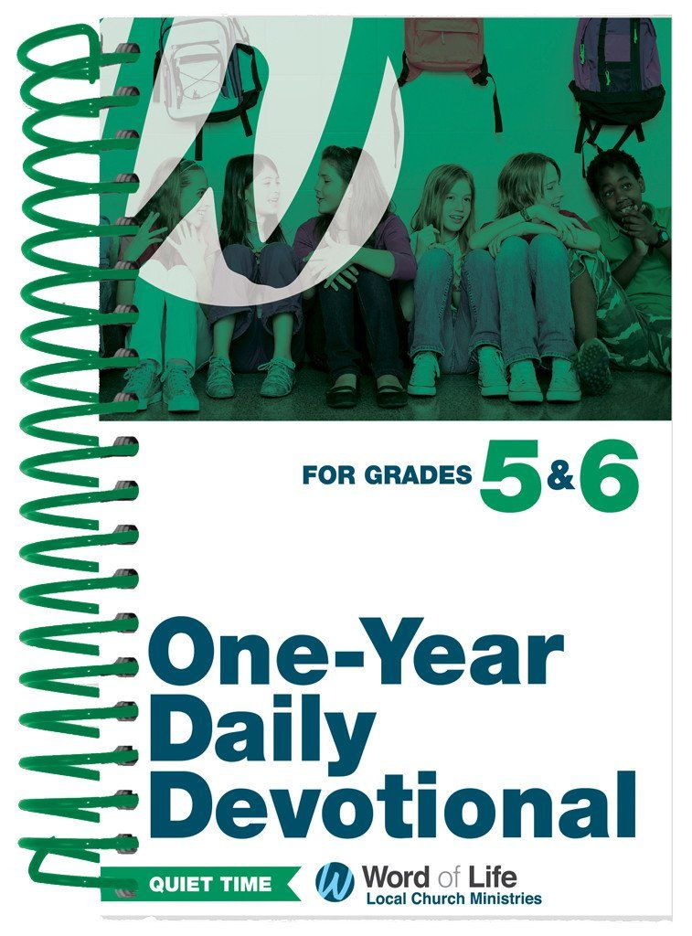 5th 6th Grade Quiet Time Daily Devotional 2016 17 Teaching