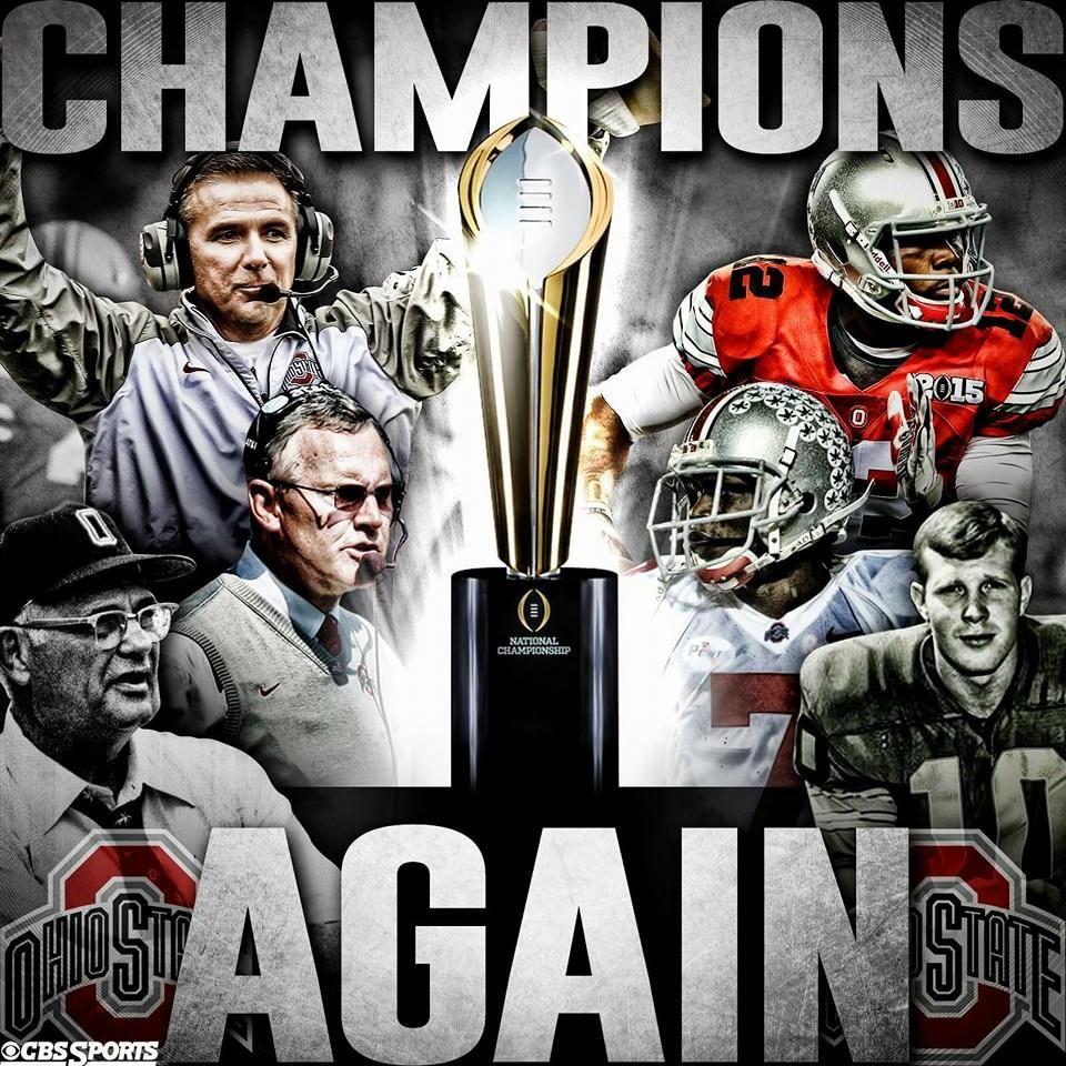 Ohio State 2014 National Champions!! 8 Ohio State