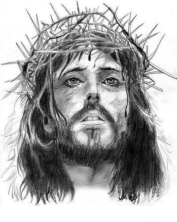 Imagenes De Un Rotulador Cristo Coronado De Espinas Imagen De Cristo Rostro De Jesus