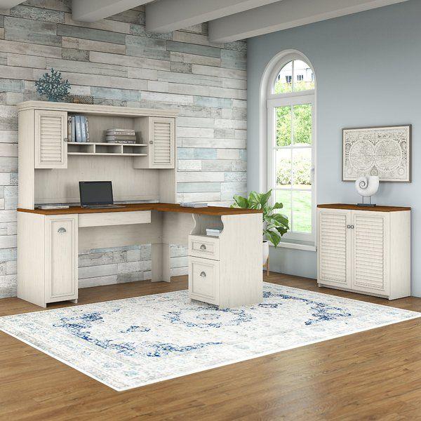 Oakridge 3 Piece L-shaped Desk Office Suite Home Office