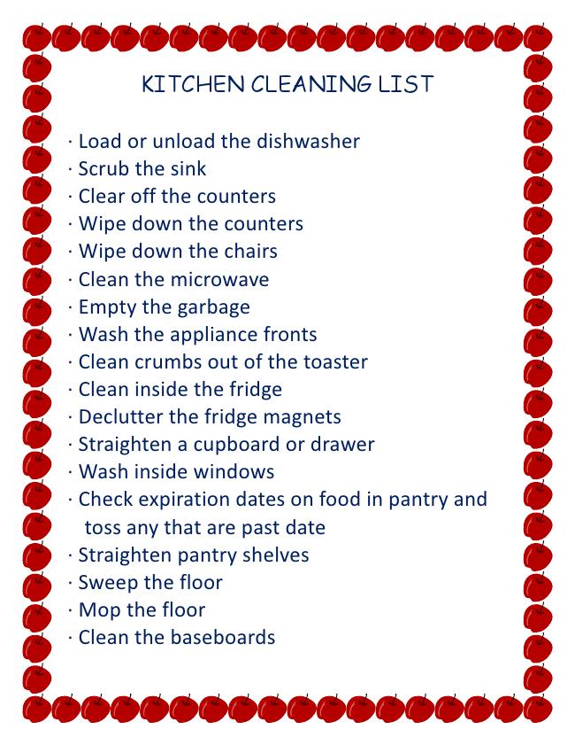 clean house jobs