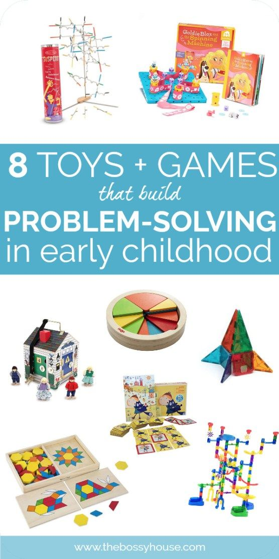8 Games and Toys to Build Your Child's Problem Solving ...