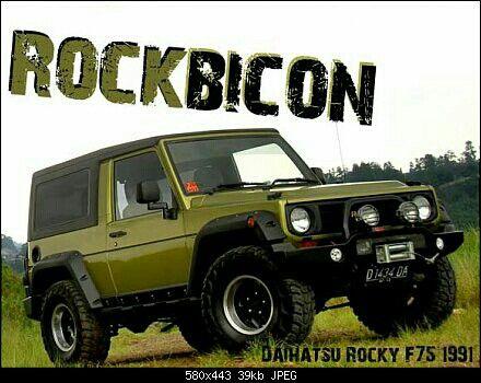 Pin By R Andres On Feroza Rocky Rugger Sportrak Fourtrak Taft Freeclimber Daihatsu Taft Rocky Japanese Cars