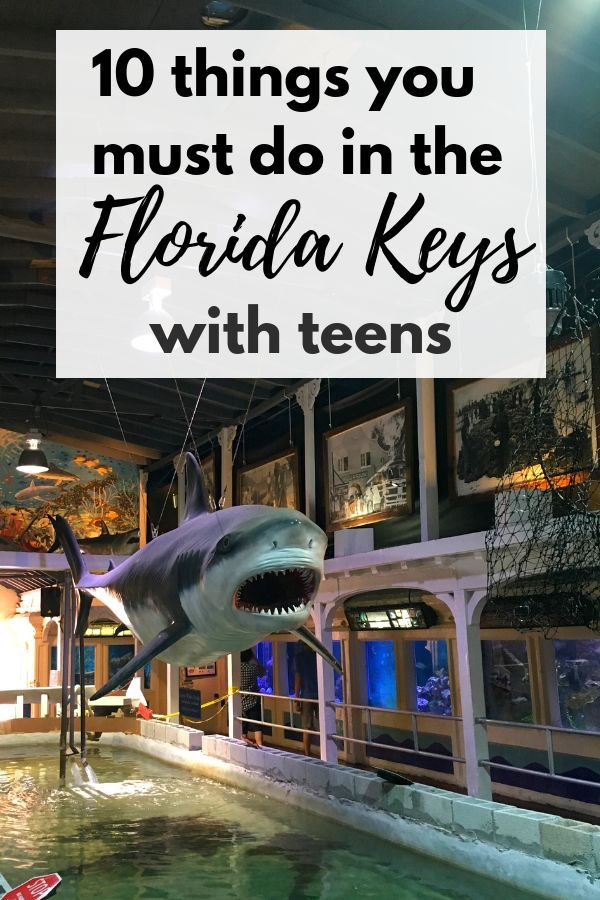 10 Things You Must Do with Teens in the Florida Keys ...