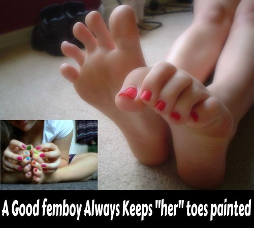 Image Forced Tg Captions Long Toes Yes Please Sissy Boy Y