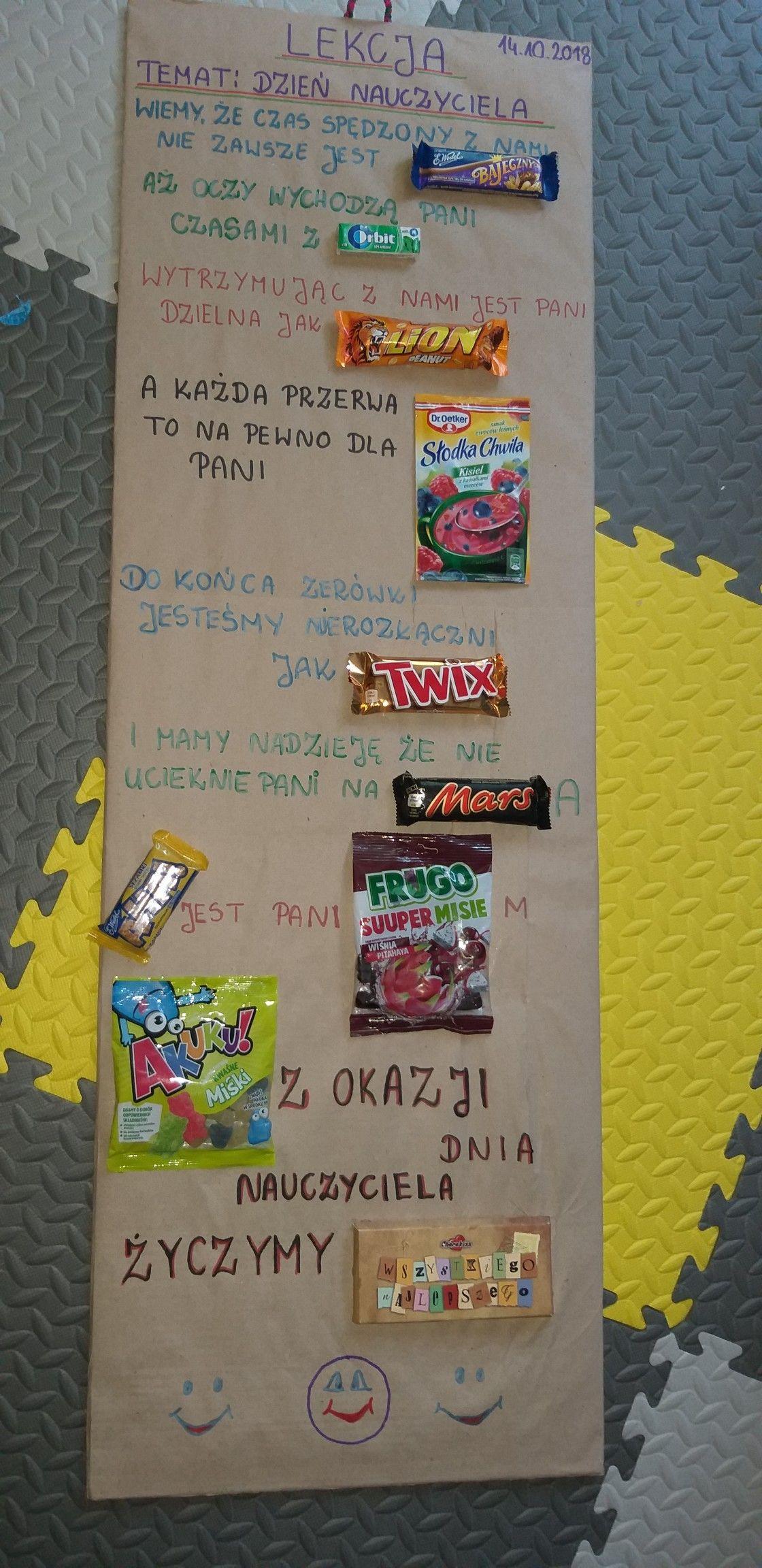 Dzien Nauczyciela Birthday Gifts For Best Friend Gift Inspo Best Friend Gifts
