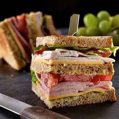 All american club sandwich recipe food recipes and burgers all american club sandwich forumfinder Images