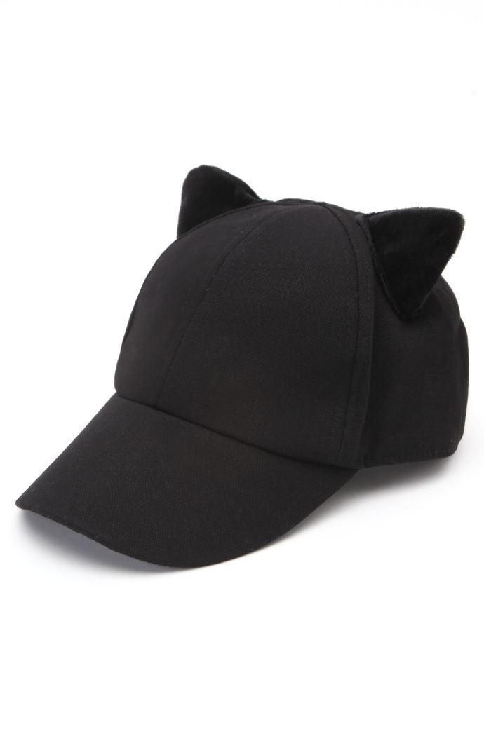 c6a7656929e Kendall   Kylie Cat Ear Baseball Hat  pacsun